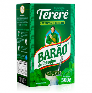 Yerba Mate Barao TERERE Menta Boldo 500g