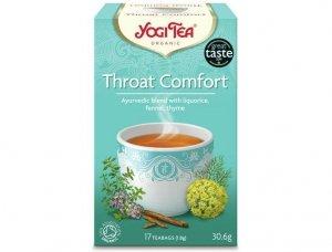 Herbata Na Gardło Bio 17x1,8g Yogi Tea