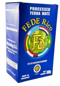 Yerba Mate Fede Rico FD Organica 250g BIO