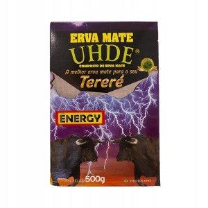 Yerba Mate UHDE Energy 500g o smaku guarany