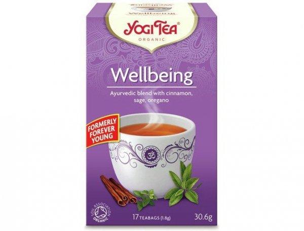 Herbata Pełnia Życia Bio 17x1,8g Yogi Tea