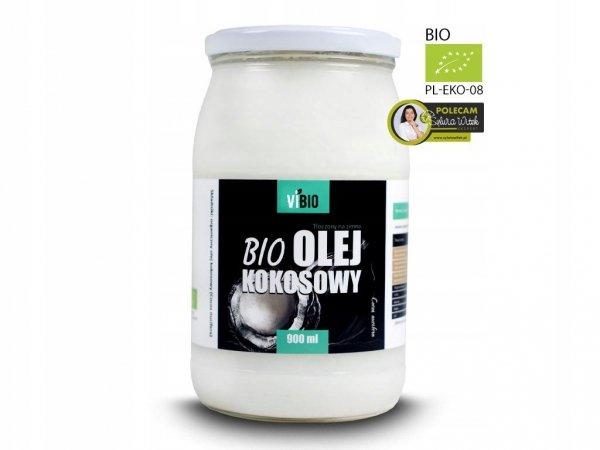 Olej kokosowy Virgin BIO 900 ml Ekologiczny