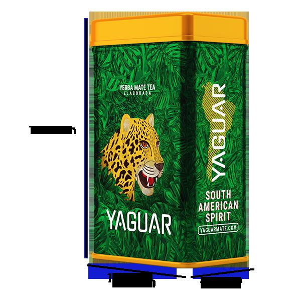 Yerbera Yerba Mate Yaguar Energia Guarana 500g