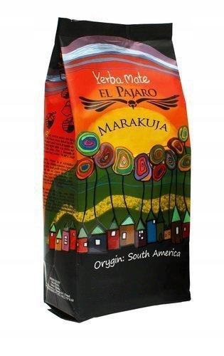 Yerba Mate El Pajaro Maracuya - 1kg Marakuja owoc