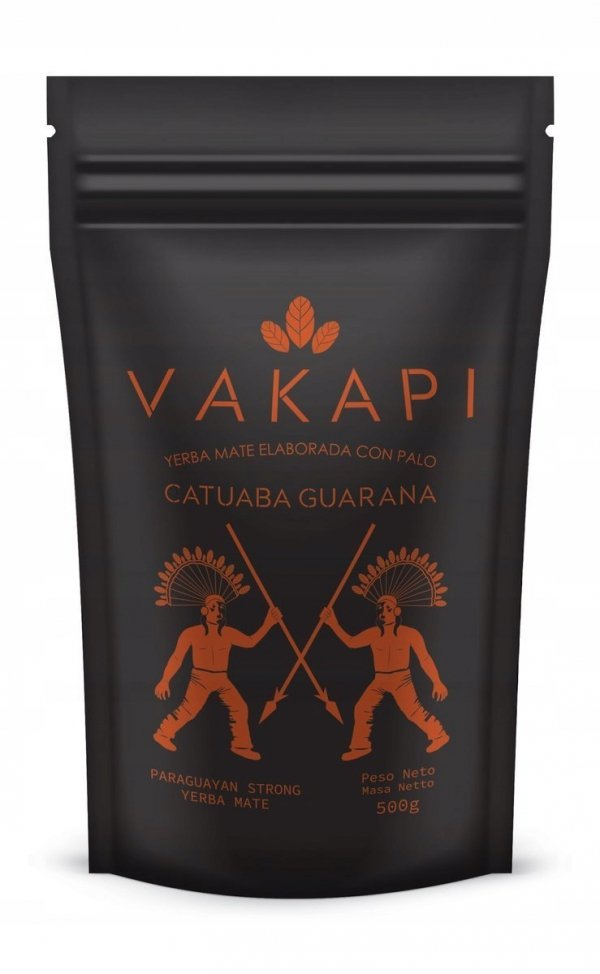 Yerba Mate Vakapi Catuaba Guarana Czystek 500g