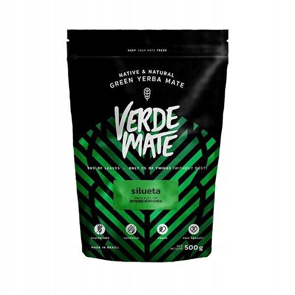 Yerba Verde Mate Green Silueta FITNESS 500g