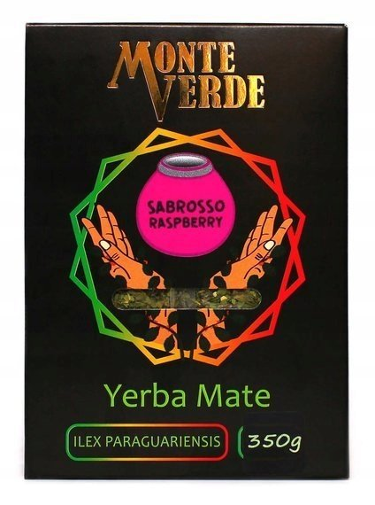 Yerba Mate Monte Verde Sabroso Rasberry 350g