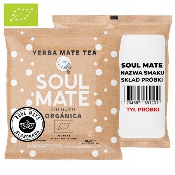 Yerba Soul Mate Organica Menta Limon 25g BIO 25g
