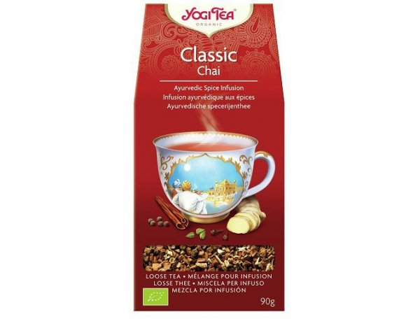 Herbata Klasyczna (luzem) Bio 90g Yogi Tea