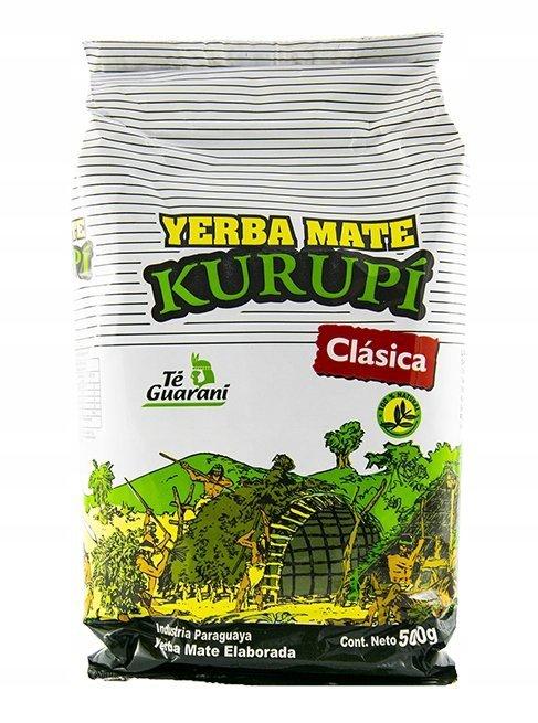 Yerba Mate Kurupi Clasica Klasyczna Elaborada 500g