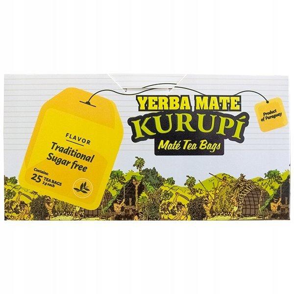 Yerba Mate Kurupi Clasica COCIDO 25x3g Klasyczna