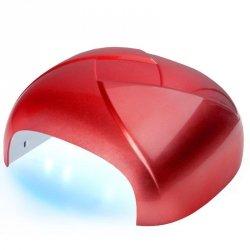 LAMPA TWISTER UV DUAL LED 36W TIMER + SENSOR CZERWONA