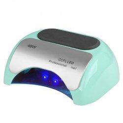 LAMPA PROFESSIONAL 2W1 UV LED+CCFL 48W TIMER+SENSOR MIĘTOWA