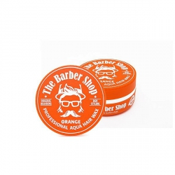 THE BARBER SHOP AQUA HAIR WAX ORANGE POMADA WODNA DO WŁOSÓW CYTRUSY 150ML