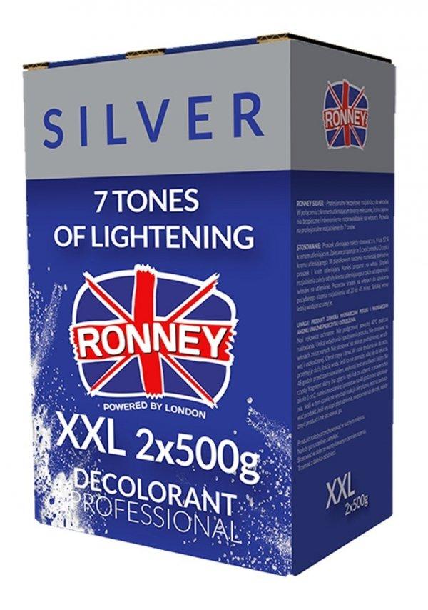 rozjaśniacz 2 x 500g silver Ronney