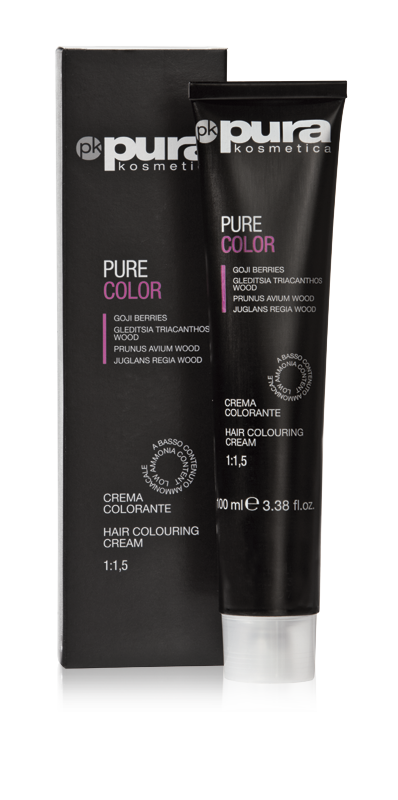 PURA PURE COLOR FARBA DO WŁOSÓW 100ML 7/0 Medium Blond
