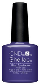 CND Shellac - Blue Eyeshadow