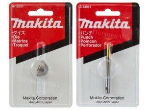 Stempel + matryca do nożyc Makita JN1601 Oryginał A-15051 i A-83951
