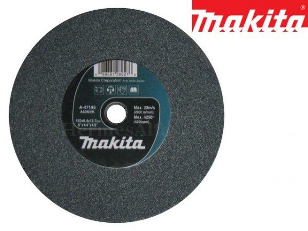 KAMIEŃ SZLIFIERSKI DO SZLIFIERKI STOŁOWEJ GB602 150mm MAKITA B-51895 (A-47195)