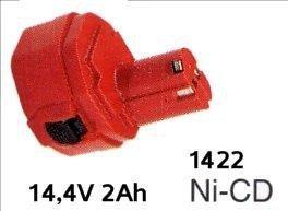 Akumulator ORYGINAŁ MAKITA 1422 NiCd 14,4V  1,9Ah (d. 2,0Ah)