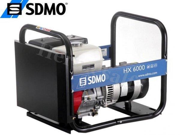 GENERATOR AGREGAT PRĄDOTWÓRCZY SDMO HX6000