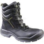 Buty robocze ze skórzany krupon barwiony gładki amagnetyczne S3 SRCkolor czarny rozmiar 42 CALYPS3NO42