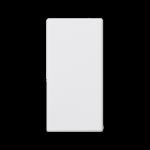 Zaślepka K45 45×22,5mm czysta biel