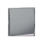 Pokrywa do gniazda wtyczkowego z uziemieniem - do wersji IP44- klapka w kolorze pokrywy aluminiowy, metalizowany