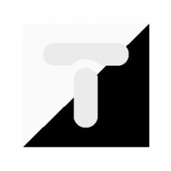 TOPAZ Przycisk zwierny /dzwonek/ biały WP-7T