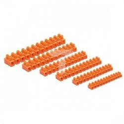 Złączka zaciskowa 12-torowa 10mm2 57A pomarańczowa lz-100 LZ-100MM0-00