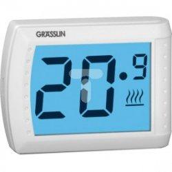 Termostat pokojowy 5-35st. 6A THERMIO Touch dotykowy zasilanie bat. 2x1,5V AAA 044600191
