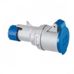 Gniazdo przenośne proste MULTIMAX 16A 2P+E 200-250V 50-60HZ 6H IP44 P720126
