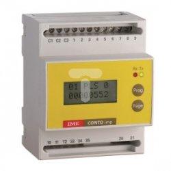Licznik impulsów 6+6 impulsowe/RS485 A230V CONTO imp IF4C001