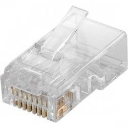 Wtyk teleinformatyczny RJ45 kat.6 UTP 93828 /10szt./