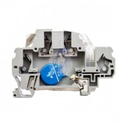 Złączka szynowa z warystorem 24V DC szara 870-523/281-582