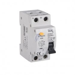Wyłącznik różnicowo-prądowy z zabezpieczeniem nadmiarowo-prądowym KRO6-2/B20/30 23219