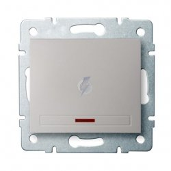 Łącznik jednobiegunowy z LED DOMO 01-1110-230 pe 24960