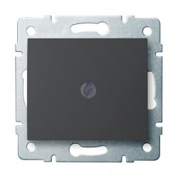 Łącznik jednobiegunowy LOGI 02-1000-141 gr 25243
