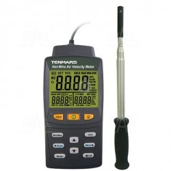 TM4002 Anemometr HOT-WIRE, temp. TENMARS
