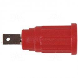 Gniazdo panel bezp. wcisk. SEPB1773-R 24A CATII 1,5kV