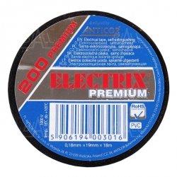 Taśma ELECTRIX 200 PREMIUM PCW 19mmx18m BK czarna