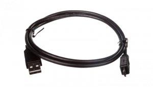 Kabel USB 1m czarny USB A/M wtyk - microUSB B/M wtyk s/USB 2.0 AK-300110-010-S