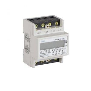 Licznik zużycia energii elektrycznej, 3P, In 100A KDEM-3P LCD 19344