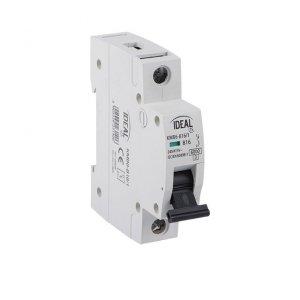 Wyłącznik nadmiarowo-prądowy, 1P KMB6-B16/1 23140