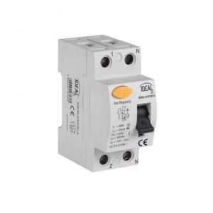 Wyłącznik różnicowo-prądowy, 2P KRD6-2/25/30-A 23188