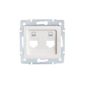 Adapter gniazda RJ45 LOGI 02-1419-002 bi 25936