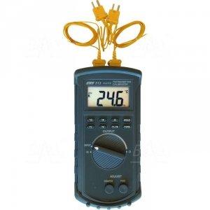 CHY513 Termometr kalibrator 2 kan. K, -200 do 1370°C