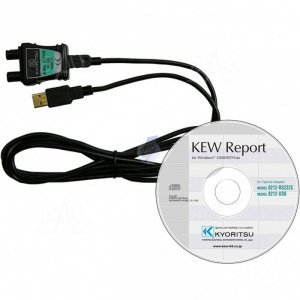 KEW8212USB Kabel i program KEW Report do 3552/4106/6010B/6016/6516BT/6024PV