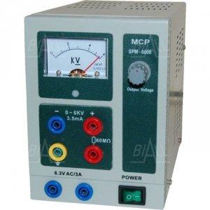 Zasilacz lab wysokonapięciowy SPN6000A DC 6kV/3,5mA MCP