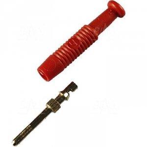 Wtyk kołkowy 2mm MST3-R 6A, czerwony